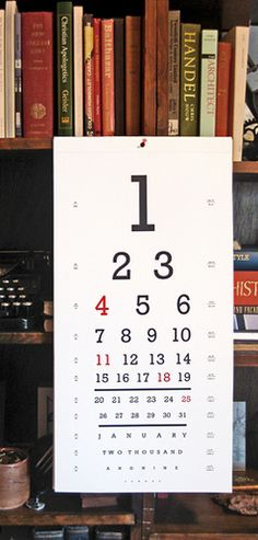 this is a seeing eye chart which we use the occipital lobe for becuse it is the center of our vision