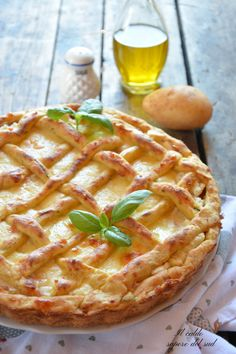 Ricotta, Apple Pie, Pizza, Waffles, Muffins, Food And Drink, Healthy Eating, Vegan, Vegetables