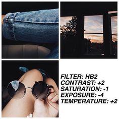 HB2 contraste y brillo altos, cálidos