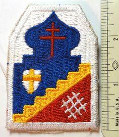 """6860th HQ Detachment (""""T Force"""") Shoulder Patch"""