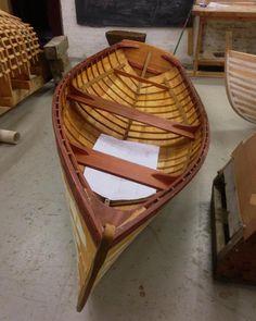 Wooden boat school