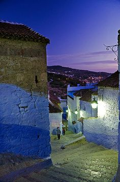 Chefchaouen, Northern Morocco via flickr (ALREADY PINNED ON MAGICAL MOROCCO BOARD)