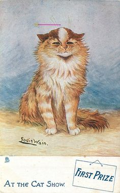 FIRST PRIZE (1907) Louis Wain
