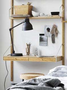 The bamboo shelf