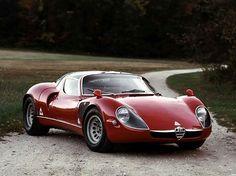 Alfa Romeo 33 stradale, designed by Franco Scaglione #alfaromeo