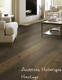 Anderson Historique Hastings Engineered And Heavily Sed Oak Hardwood Flooring Plank