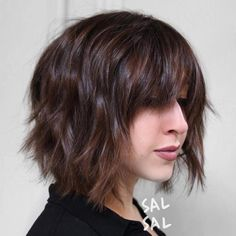 165 best Bobs with Bangs images on Pinterest in 2018 | Hair colours ...