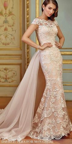 36 Lace Wedding Dresses That You Will Absolutely Love ❤ See more: http://www.weddingforward.com/lace-wedding-dresses/ #wedding #dresses #lace