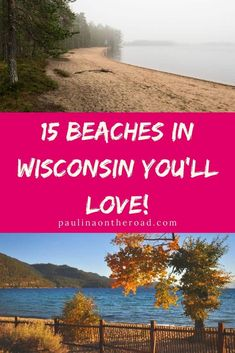 Are you looking for the best beaches in Wisconsin? I got you covered with a selection of the best beaches in Northern, Central and South Wisconsin! Whether you are looking for Lake Michigan beaches in Wisconsin or scenic beaches in Door County, Wisconsin, there is a Wisconsin lakeside beach closeby! Some of my favorite Wisconsin beaches are near Port Washington, Wisconsin and on Washington Island, Wisconsin. #wisconsin #wisconsinbeaches #bestbeacheswisconsin #doorcountybeaches #usabeaches… Wisconsin Dells, Lake Michigan, Canada Travel, Travel Usa, Lakeside Beach, Washington Island, East Coast Beaches, Canada Destinations, Usa Trip