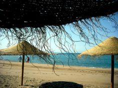 Playa de la Caleta, Malaga - Costa del Sol (Espagne)