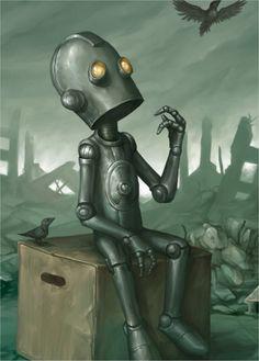 Clarkesworld Robot