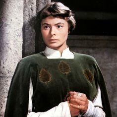 Ingrid Bergman in Joan of Arc, 1948.