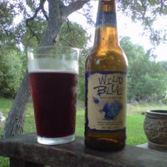 After a day of wine tasting, I am going with Blueberry Beer Wild Blue, Blue Dawg Brewing Baldwinsville, NY!