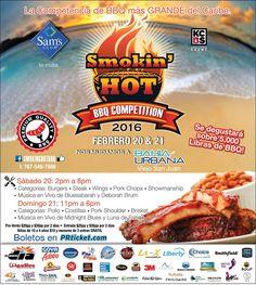 Smokin' Hot BBQ Competition Puerto Rico 2016 #sondeaquipr #smokinhotbbq #bahiaurbana #viejosanjuan #sanjuan