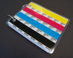 Blank Pantone Swatch Book by annewanda on Etsy, $8.50