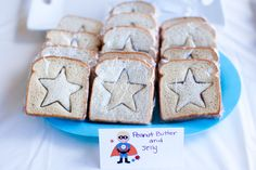 Food for superhero party