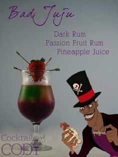 rapunzel themed martini - Google Search