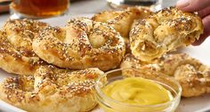 Oktoberfest deserves more than a ho-hum snack. These Puffzels, made from Puff Pastry, are easy, delicious and more than ordinary. When you bite into the soft, flaky layers of Puff Pastry that have Dijon flavor baked right in, and reach the delectable cheese and sausage that's been stuffed inside, you'll think you've been transported to …