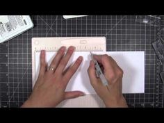 Clever alignment trick to help when using alphabet stamp sets by Julie Ebersole