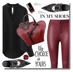 """""""In my shoes"""" by soks ❤ liked on Polyvore featuring Haider Ackermann, Christian Dior and Chanel"""