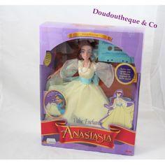 Poupée mannequin Anastasia GALOOB LANSAY valse enchantée robe jaune 30 cm