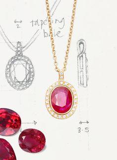 Bespoke Gallery Ruby Pendant