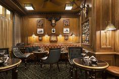 The Hemingway Bar in the Hotel Ritz in Paris.