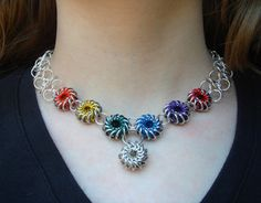 ** Chainmaille Jewelry Necklace Tutorial  @mailleartisans