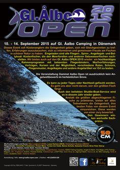 Dieser Event soll Küstenanglern die Gelegenheit geben, sich mit Gleichgesinnten zu treffen, Erfahrungen auszutauschen, sich zu informieren und gemeinsam Freude am Fischen in schöner Natur zu haben.  Die nächsten Gl. Aalbo Open finden vom :  10.09.2015 - 14.09.2015 statt.