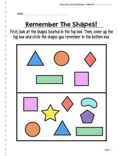 Visual Perceptual Activity Worksheets - Chicago Occupational images ideas from Worksheets Ideas Mindful Activities For Kids, Fun Worksheets For Kids, Sequencing Worksheets, Therapy Worksheets, Free Printable Worksheets, Free Printables, Visual Perceptual Activities, Cognitive Activities, Occupational Therapy Activities