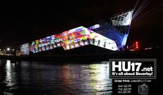 Hull UK City of Culture 2017 – Video Showing The Deep Light Show