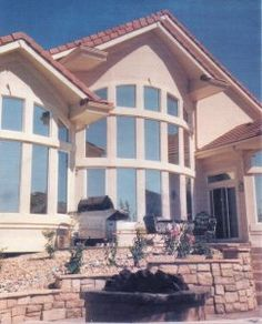Blocking sunlight can save you energy and keep away harmful UV rays Tinted House Windows, Residential Windows, Modern House Design, Sunlight, Denver, Home Improvement, Mansions, House Styles, Ideas