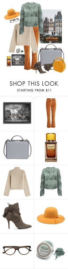 """""""Amsterdam Ready"""" by ms-wednesday-addams ❤ liked on Polyvore featuring Americanflat, Frame, Mark Cross, D&G, Rosetta Getty, Drome, Schutz, Bulgari and Bertoni"""
