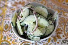 Creamy Cucumber Dill Salad |