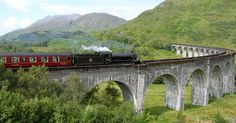 The Jacobite Steam Train which runs from Fort William in the Scottish highland to Mallaig on the west coast of Scotland, well-known from the Harry Potter movies as Hogwarts Express I see this train everyday from my garden during the summer months Hogwarts, Desktop Pictures, Wallpaper Pictures, West Coast Scotland, Fort William, Harry Potter Movies, Scottish Highlands, During The Summer, The Places Youll Go