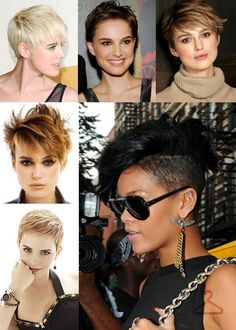 Short hair inspiration I