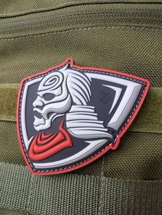 1f88da56e47 AIRSOFT TEAM PATCH - LONE WARRIOR Pvc Patches