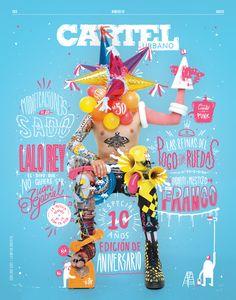 Revista Cartel Urbano Ed. 50 on Behance