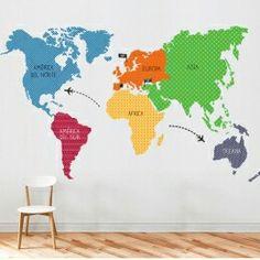 Mapa colores