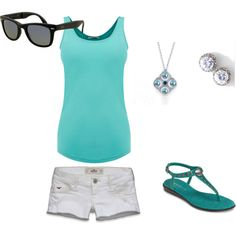 Simple day at the park outfit