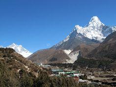 Pangboche Village - Everest region, Nepal.