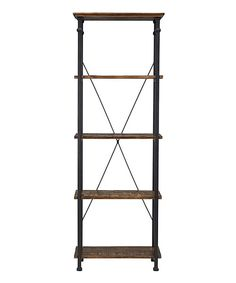 Look at this Vintage Industrial Bookcase on #zulily today!