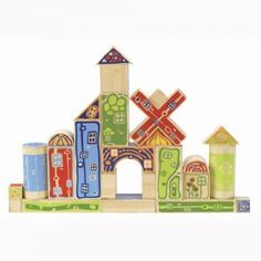 Hape Organeco Blocks are very unique blocks made from bamboo. They are designed for people with exceptionally creative minds. They are available at Smith Galleries on Hilton Head Island, SC.