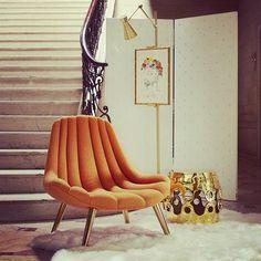 Bedroom Reading Chair Not That Color Jonathan Adler Brigitte