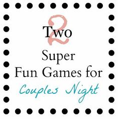 Your Crafty Friend: Couples Game Night (newlywed game) Date Night Games, Couples Game Night, Game Night Parties, Night Couple, Girls Night, Dinner Party Games For Adults, Adult Party Games, Adult Games, Fun Games