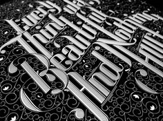 Beautiful Typography & Lettering Works by Ben Johnston Graphic Design Letters, Lettering Design, Graphic Design Inspiration, Daily Inspiration, Cool Typography, Typography Letters, Typographie Inspiration, Hand Drawn Type, Communication Art