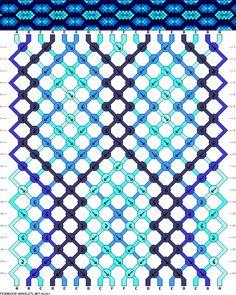 18 strings, 6 colors, 20 rows