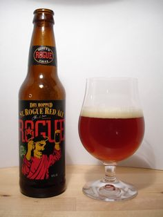 Rogue Red Ale Dry Hopped 5.2% (Oregon, US).  RateBeer Score 94/100