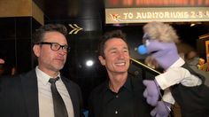 Unbelievable - Red carpet. Connor Trinneer and Dominic Keating