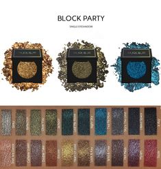 Dose Of Colors - Block Party Single Eyeshadows Dose Of Colors, Makeup Tips, Eye Makeup, Makeup Products, Beauty Products, Anastasia Beverly, Kylie, Bath & Body Works, Glitter Pigment
